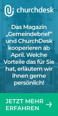 Kooperation Gemeindebrief und ChurchDesk